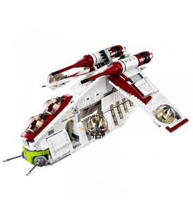 Custom Star Wars Republic Gunship Compatible Building Bricks Toy Set 1175 Pieces