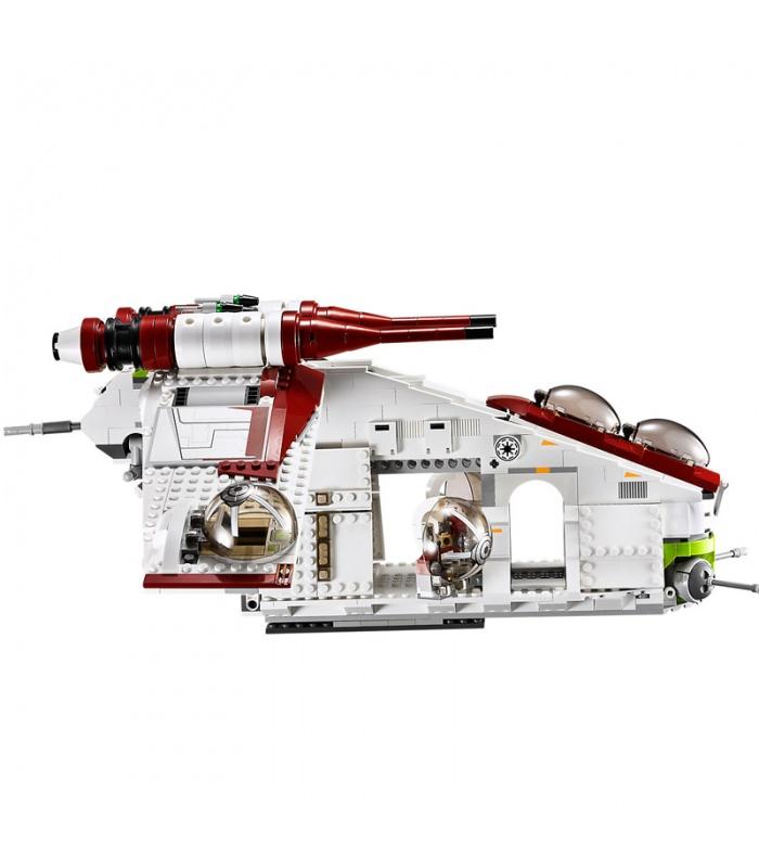 Benutzerdefinierte Star Wars Republic Gunship kompatible Bausteine Spielzeug Set 1175 Stück