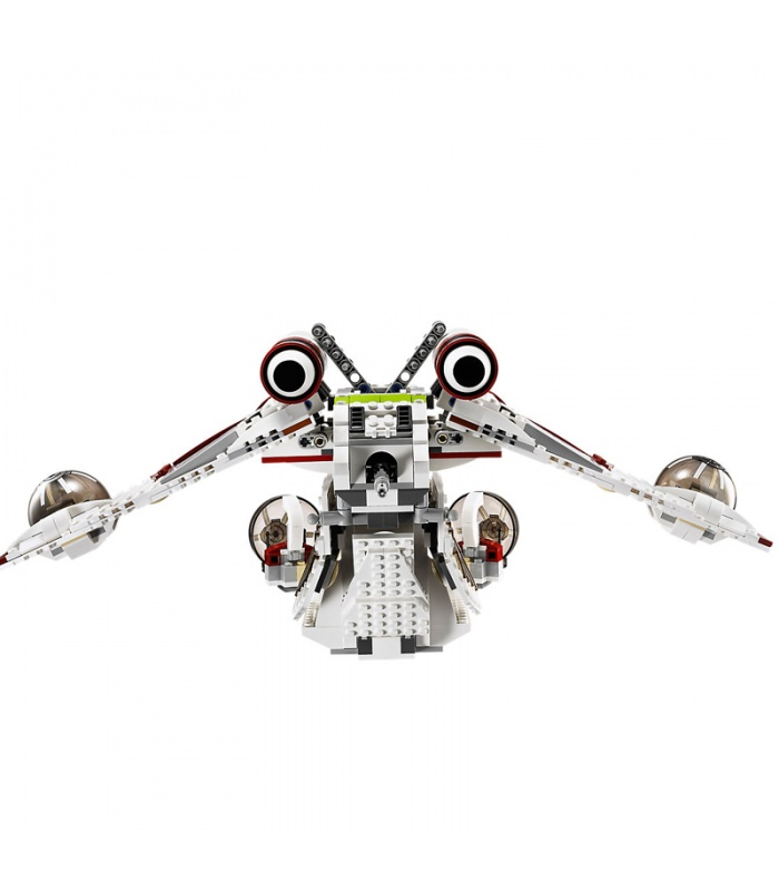 カスタムスター-ウォーズ共和国Gunship対応のブ玩具セット1175個