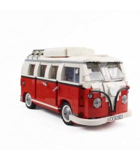 Benutzerdefinierte Volkswagen T1 Camper Van Bausteine Spielzeug-Set 1354 Stück