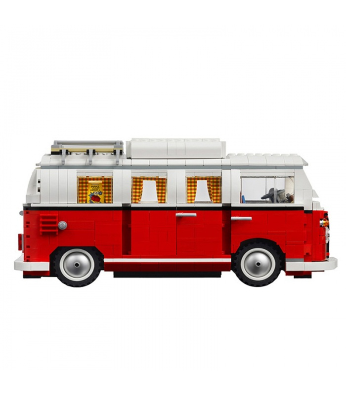 Custom Volkswagen T1 Camper Van Building Bricks Toy Set 1354 Pieces