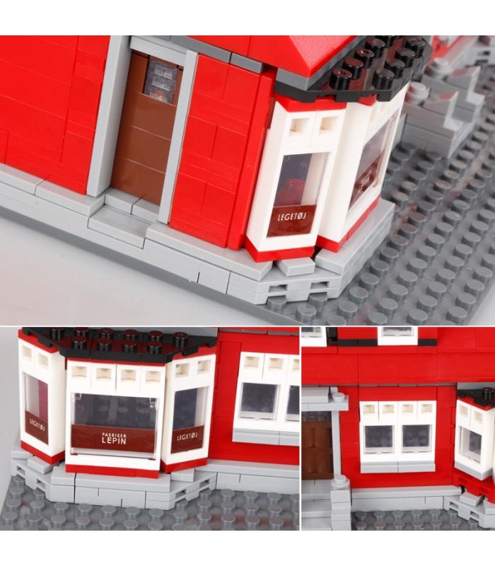 Custom Ole Kirk'S House Compatible Building Bricks Toy Set 928 Pieces