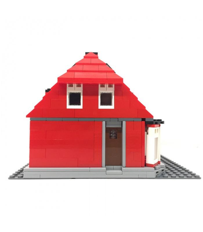 Пользовательские Оле Кирк доме совместимый здание кирпич комплект 928 штук