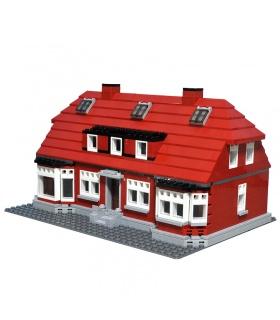 Benutzerdefinierte Ole Kirk Haus kompatible Bausteine Spielzeug Set 928 Stück