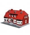 CUSTOM17006ビルブロック玩具オカークハウス建物の煉瓦セット