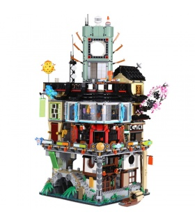 Custom Ninja City Compatible Building Bricks Set 4953 Pieces