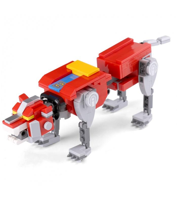 Benutzerdefinierte Ideen Voltron Mech Kompatible Bausteine Spielzeug-Set 2600 Stück