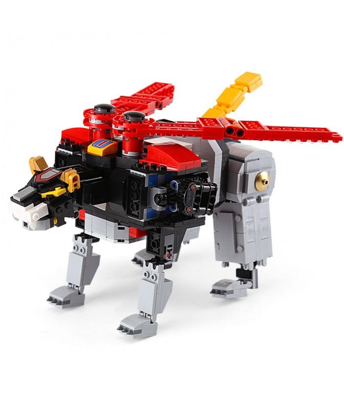 Custom Ideas Voltron Mech Compatible Building Bricks Toy Set 2600 Pieces