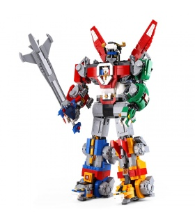 Custom Ideas Voltron Mech Compatible Building Bricks Toy Set 2600 Pieces