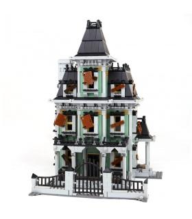 Custom Haunted House Compatible Building Bricks Set 2141 Pieces