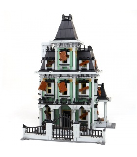 Custom Haunted House Compatible Building Bricks Toy Set 2141 Pieces