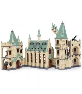 Personalizado Castillo De Hogwarts Compatible Edificio De Ladrillos De Juguete Set 1340 Piezas