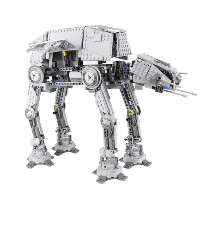 Custom Motorised Walking AT-AT Star Wars Compatible Building Bricks Toy Set 1137 Pieces