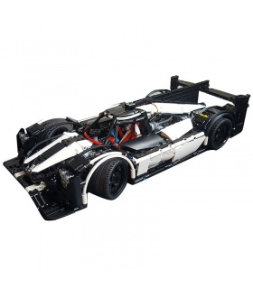 カスタムPorsche919Hybrid5530MOC建材用煉瓦の玩具セット2207個