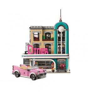 Custom Urban Diner Compatible Building Bricks Set 2778 Pieces