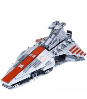 Custom Venator-Class Republic Attack Cruiser Building Bricks Toy Set 1200 Pieces