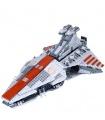 Custom Venator-Class Republic Attack Cruiser Building Bricks Toy Set 1200 Pieces
