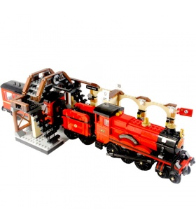 Custom Harry Potter Hogwarts Express Building Bricks Set 897 Pieces