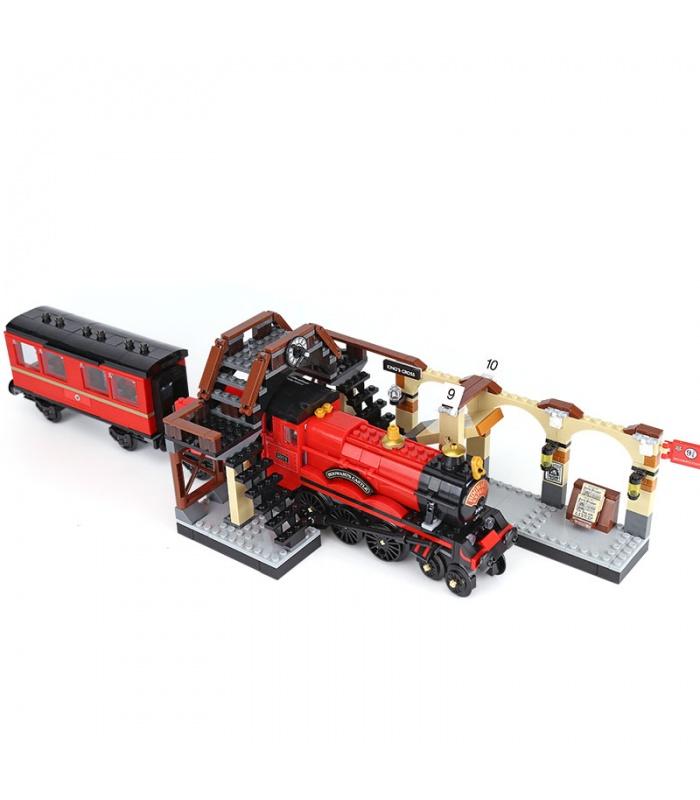 Custom Hogwarts Express Building Bricks Toy Set 897 Pieces