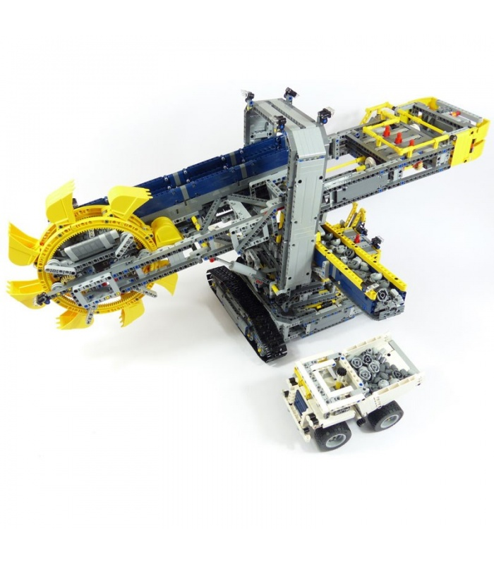 Custom Technic Bucket Wheel Excavator Building Bricks Set 3929 Pieces