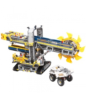 Custom Technic Bucket Wheel Excavator Building Bricks Set 3929 Pieces