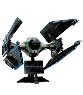 Custom Star Wars TIE Interceptor Building Bricks Set