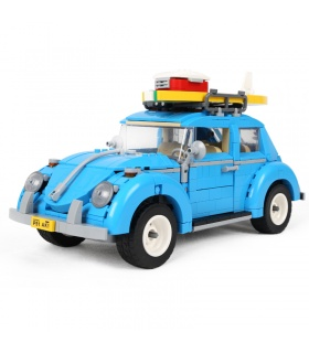 Custom Volkswagen Beetle Vehicles Compatible Building Bricks Set 1193 Pieces