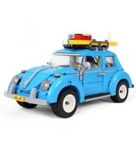 Personnalisé Volkswagen Beetle Véhicules Compatibles Briques De Construction, Jeu De 1193 Pièces