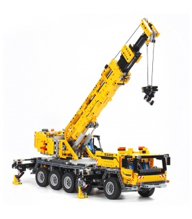 Custom Technic Mobile Crane MK II Compatible Building Bricks Set 2606 Pieces