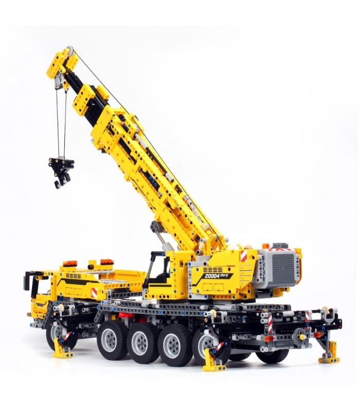 Custom Technic Mobile Crane MK II Compatible Building Bricks Set 2606 Pieces