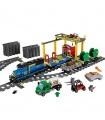 Personalizado De Carga De Trenes Compatible Edificio De Ladrillos De Juguete Set 959 Piezas