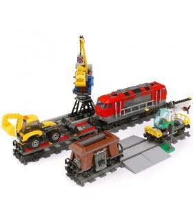Benutzerdefinierte Heavy-Haul Train Kompatible Bausteine Spielzeug-Set 1033 Stück