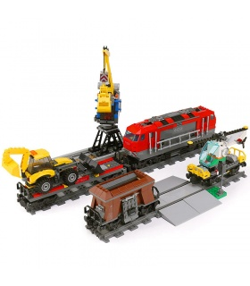 Pesado Personalizado Recorrido Con El Tren Compatible Con Los Ladrillos Del Edificio Conjunto 1033 Piezas