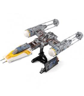 Costumbre De Star Wars Y-Wing Starfighter Edificio De Ladrillos De Juguete Set 2203 Piezas
