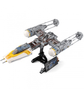 Custom Star Wars Y-Wing Starfighter Building Bricks Toy Set 2203 Pieces