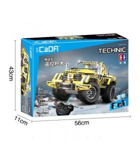 Double Aigle CaDA C51003 Roi Camionnette Blocs De Construction Ensemble