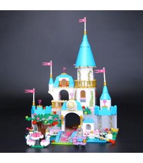 Custom Cinderella's Romantic Castle Building Bricks Set 697 Pieces