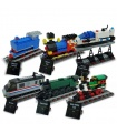 Custom 50 Years on Track Compatible Building Bricks Toy Set  1176 Pieces