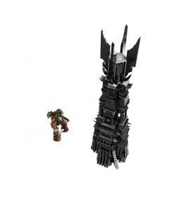 Custom The Lord of the Rings Tower of Orthanc Building Bricks Set 2430 Pieces