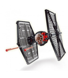 Custom First Order Special Forces TIE Fighter Building Bricks Toy Set 213 Pieces