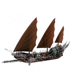 Custom Pirate Ship Ambush Building Bricks Set 756 Pieces