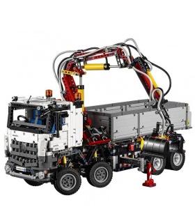 Kundenspezifische Technik Mercedes Benz Arocs Bausteine Spielzeug Set 2793 Stück
