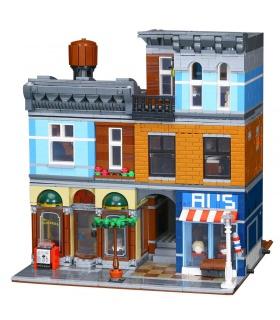 Custom Creator Expert Detective's Office Building Bricks Set 2344 Pieces