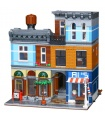 Custom Creator Expert Detective's Office Building Bricks Toy Set 2344 Pieces