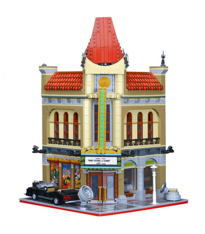 Personalizado Palacio Del Cine Compatible Con Los Ladrillos Del Edificio Conjunto 2404 Piezas