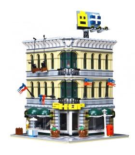 Custom Creator Expert Grand Emporium Compatible Building Bricks Set 2232 Pieces