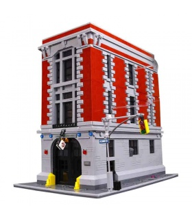 Custom Ghostbusters Firehouse Headquarters Building Bricks Set