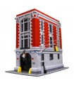Custom Ghostbusters Firehouse Headquarters Building Bricks Toy Set
