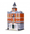 Custom Town Hall Creator Expert Compatible Building Bricks Toy Set 2859 Pieces
