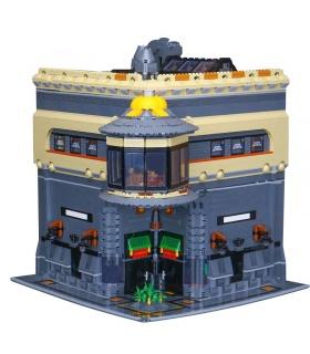 LEPIN15015MOC恐竜博物館建物の煉瓦セット